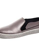 Для мужчин обувь Полиуретан Весна Осень Удобная обувь Мокасины и Свитер Назначение Повседневные Черный Лиловый