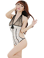 Women's Suits NightwearSexy Lace Jacquard-Thin Polyester Nylon Spandex