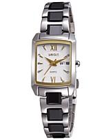 Women's Dress Watch Fashion Watch Wrist watch Quartz Stainless Steel Band
