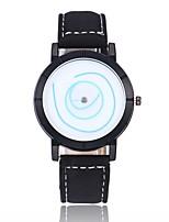 Homens Mulheres Relógio de Moda Relógio de Pulso Chinês Quartzo Couro Banda Branco