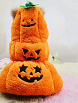 Dog Costume Dog Clothes Casual/Daily Pumpkin