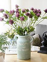 2 Une succursale Plastique Autres Fleur de Table Fleurs artificielles