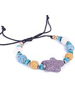 Homme Femme Chaînes & Bracelets Simple Style Classique Pierre Forme Géométrique Bijoux Pour Nouvelle Année