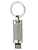 2G U Disk Crystal  Pen Drive  Pen Drive Jewelry Usb Flash Drive USB 2.0 Christmas Gift