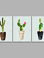 Peint à la main A fleurs/Botanique Artistique Inspiré de la nature Rustique Décontracté Anniversaire Cool Moderne/Contemporain Bureau /