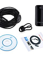 10MM Lens USB Camera WIFI Endoscope Inspection Borescope Waterproof IP67 20M Cable Snake Wireless Cam for Android IOS PC