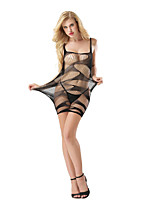 Women's Suits Nightwear,Sexy Lace Jacquard-Thin Polyester Spandex