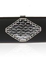 Women Bags All Seasons PU Evening Bag Beading for Event/Party Purple Drak Red Silver Black Gold