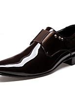 Homme Chaussures Similicuir Printemps Automne Nouveauté Mocassins et Chaussons+D6148 Paillette Pour Décontracté Noir Marron