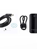 9MM Lens WIFI Endoscope Camera 2M Length Cable Snake Inspection Borescope USB Android IOS PC Wireless Cam