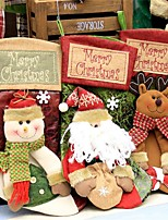 Stockings Pouch Ornaments Christmas Holiday Home Decoration Christmas PartyForHoliday Decorations