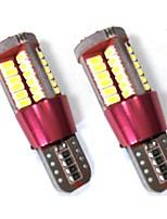 2PCS W5W T10 158 194 10W 6000K LED T10 Can-bus Error Free LED Bulb White Color