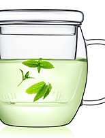 Indoor Casual/Daily Drinkware, 450 Toughened Glass Tea Water Water Pot & Kettle