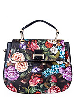 Women Bags All Seasons PU Tote Pockets for Casual Black