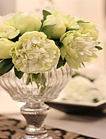 5 Branch Silk Peonies Tabletop Flower Artificial Flowers