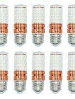 10pcs 12W E27 Ampoules Maïs LED T 60 diodes électroluminescentes SMD 2835 Blanc Chaud Blanc Couleur double source lumineuse 1000lm