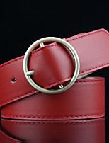 Women's Alloy Waist Belt,Solid Solid Fashion Retro