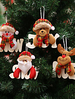 Animals Inspirational Snowmen Santa Snowflake Words & Quotes Holiday Still Life Christmas PartyForHoliday Decorations