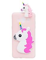 Custodia Per Samsung Galaxy J7 (2017) J3 (2017) Fantasia/disegno Fai da te Custodia posteriore Unicorno Fantasia