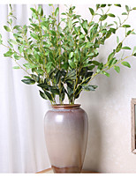 1 Branch Polyester Plants Tabletop Flower Artificial Flowers