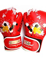 Gants de Boxe d'Entraînement pour Boxe Doigt complet Garder au chaud Respirable Léger Protectif Cuir