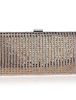 Women Bags All Seasons Polyester Evening Bag Beading Pearl Detailing for Event/Party Gold