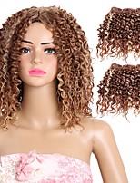 Curly Braids Hair Braid Curly 100% kanekalon hair 100% Kanekalon Hair Medium Brown/Medium Auburn Medium Brown/Strawberry Blonde 10