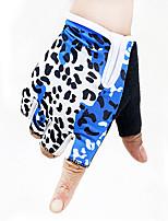 Women's Fabric Jacquard Wrist Length Half FingerSoak Off Accessories Color Block All Seasons