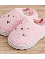 Girls' Shoes Knit Winter Fall Comfort Slippers & Flip-Flops for Casual Gray Light Yellow Pink Light Blue