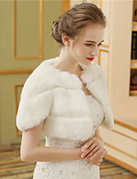 Women's Wrap Shrugs Faux Fur Wedding Party/ Evening Fur
