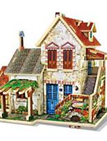 3D пазлы Наборы для моделирования Игрушки Архитектура Домики 1 Куски