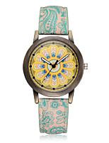 Women's Fashion Watch Wrist watch Casual Watch Chinese Quartz Colorful PU Band