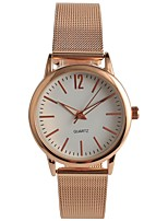 Women's Fashion Watch Japanese Quartz Stainless Steel Band Rose Gold