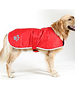 Hund Mäntel Hundekleidung Wasserdicht warm halten Massiv Orange Rot Blau Jägergrün