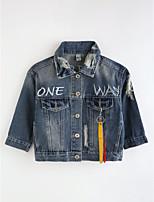 Girls' Cartoon Jacket & Coat,Cotton Fall Long Sleeve