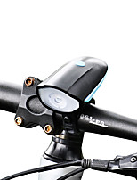 Front Bike Light LED Cree XP-G R5 Cycling USB Lithium Battery 250 Lumens Built-in Li-Battery White Camping/Hiking/Caving Everyday Use