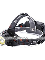 U'King Headlamps Headlight 2000 lm 4 Mode Cree XM-L T6 with USB Cable Portable Durable Camping/Hiking/Caving Everyday Use Cycling/Bike