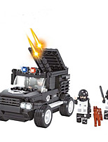 Building Blocks Military Vehicle Tank Toys Vehicles Military Fashion Boys 261 Pieces