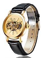 Муж. Нарядные часы Модные часы Механические часы С автоподзаводом Кожа Группа