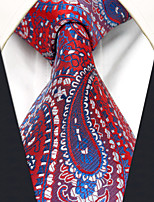 Men's Silk Neck Tie,Pattern Paisley All Seasons