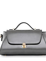 Women Bags All Seasons PU Shoulder Bag Zipper for Casual Black Gray Wine