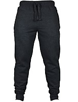 Men's Running Pants Fitness, Running & Yoga Pants / Trousers for Running/Jogging Slim Black Dark Blue Dark Grey Grey S M L XL XXL