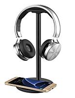 fone de ouvido fone de ouvido suporte / suporte / suporte / montagem com qi carregamento sem fio para samsung galaxy s7 / s7 bordas6 / s6