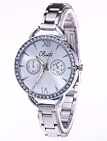 Men's Women's Fashion Delicate Watch Wrist watch Quartz Metal Band