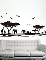Animales De moda Pegatinas de pared Calcomanías de Aviones para Pared Calcomanías Decorativas de Pared Material Decoración hogareña