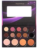 Paleta de Sombras Secos Paleta da sombra Maquiagem para o Dia A Dia