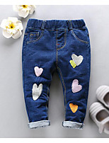 Girls' Print Jeans-Others Fall
