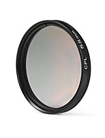 55mm cpl filtre lentille pour nikon canon sony dslr caméra - noir