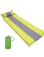 Inflated Mat Flexible Folding Easy to Install Breathability Fitness Travel Professional for Beach Camping / Hiking / Caving Trekking