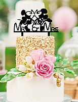 Hard plastic Table Center Pieces-Personalized Character Piece/Set